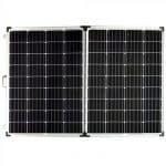 12v Folding Mono Solar Panel for Camping