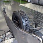 Cadet SE Camper Trailer - Spare Wheel Mount