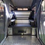 Chase S3 Camper Trailer - Under Bed Storage | Platinum Campers