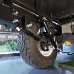 Chase S3 Camper Trailer - Off Road Suspension