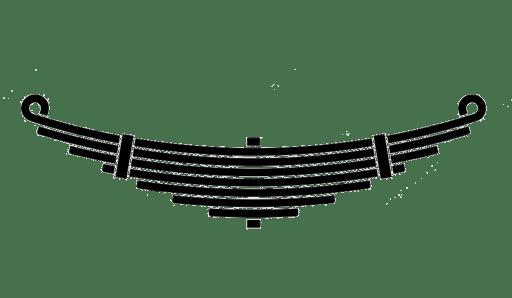7 leaf suspension