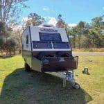 Commander Hybrid Camper Trailer - Front Storage Boxes