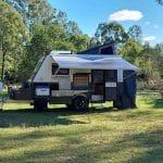 The Commander Hybrid Off-Road Camper Trailer - Open