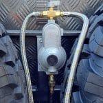Commander Hybrid Camper Trailer - Gas Regulator