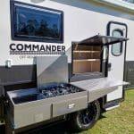 Commander - Kitchen - Pantry Open