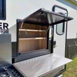 Commander Hybrid Camper Trailer - Pantry storage