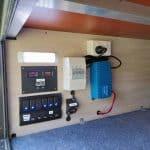 Commander Hybrid Off-Road Camper Trailer - Power Management System