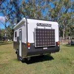 Commander Hybrid Camper Trailer - 200w Solar Panel