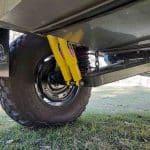 The Commander Hybrid Off-Road Camper Dual Shock Independent Suspension