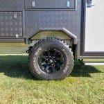 Commander Hybrid Camper Trailer - Off-Road Wheels