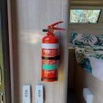 Commander Hybrid Off-Road Camper Trailer - Fire Extinguisher