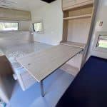 Commander Hybrid Camper Trailer - Internal Table