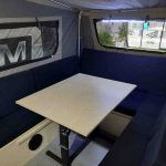 The Discovery S3 Camper Trailer - Internal Seating Area