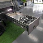 The Discovery S3 Camper Trailer - External Kitchen