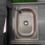 The Discovery Forward Fold Camper Trailer - Sink with plug