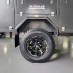 Off-Road Tyres - The General S3 Soft Floor Camper Trailer - Platinum Campers