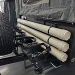 Pole Storage - The General S3 Soft Floor Camper Trailer - Platinum Campers