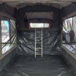The Trooper S2 Soft Floor Camper Trailer - Ladder