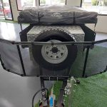 The Trooper S2 Soft Floor Camper Trailer - Mesh Stone Guard