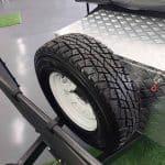 The Trooper S2 Soft Floor Camper Trailer - Spare Wheel