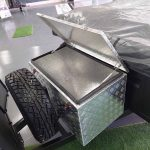 The Trooper S2 Soft Floor Camper Trailer - Storage Toolbox