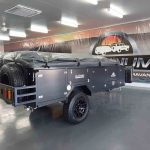 The Warrior S3 Camper Trailer - View from Back