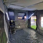 The Warrior S3 Camper Trailer - Internal View of Main Tent Area