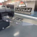 The Warrior S3 Camper Trailer - Stainless Steel Kitchen (extended)