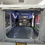 The Warrior S3 Camper Trailer - Large Open Main Tent