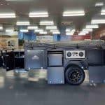 The Warrior S3 Camper Trailer - Open Storage Compartments