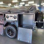 The Warrior S3 Camper Trailer - Storage Compartment