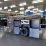 The Warrior S3 Camper Trailer - Compartmentalised Storage