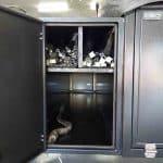 The Warrior S3 Camper Trailer - Pole Storage Area