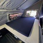 The Warrior S3 Camper Trailer - Queen Mattress and Sleeping Area