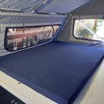 The Warrior S3 Camper Trailer - Queen Mattress and Sleeping Area Close Up