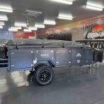 The Warrior S3 Camper Trailer - Side View - Closed Storage 2