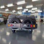 The Warrior S3 Camper Trailer - Dual Spare Wheels