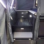 The Warrior S3 Camper Trailer - Step Through Section Storage